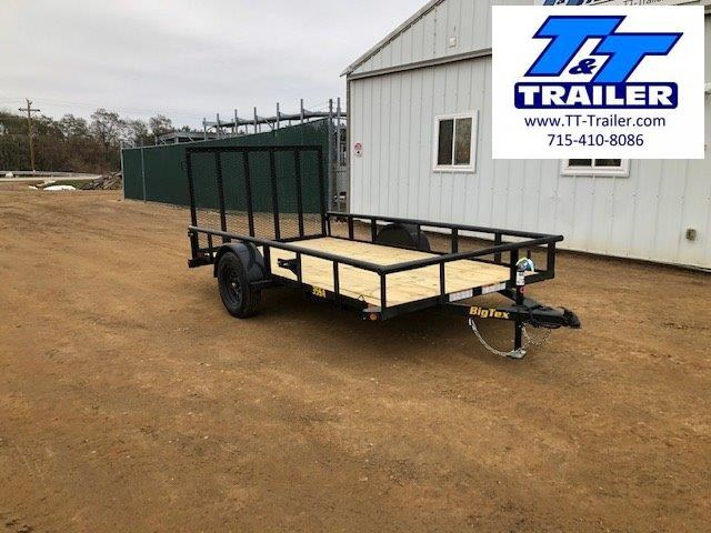 "2021 Big Tex 35SA 77"" x 12' Single Axle Utility Trailer"
