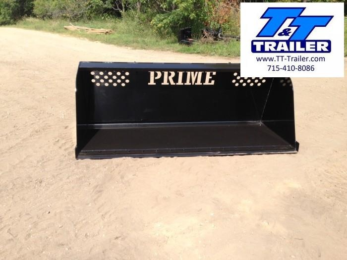 FOR RENT - Mulch and Snow High Capacity Bucket Attachment for Bobcat (7')