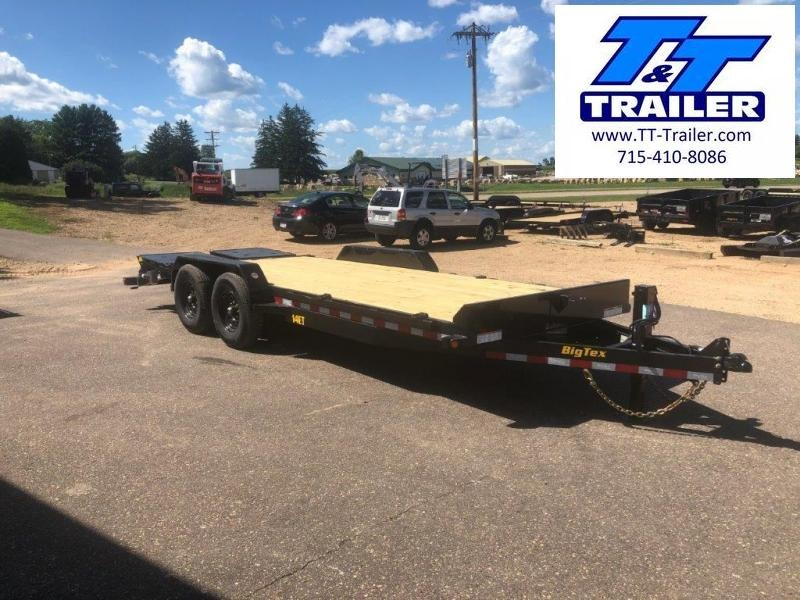 FOR RENT - 83 x 18 Car and Equipment Trailer w/ Ramps
