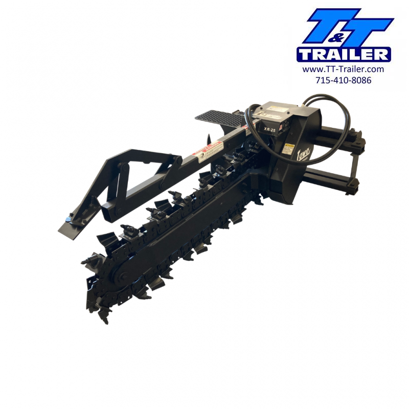 """FOR RENT - 48"""" Trencher Attachment for Bobcat"""