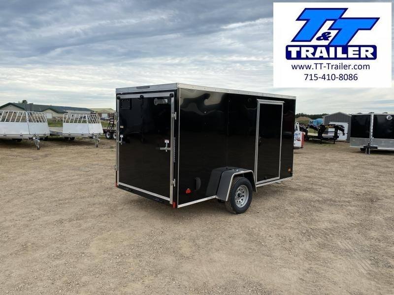 2020 Darkhorse 6 x 12 V-Nose Enclosed Cargo Trailer
