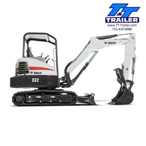 FOR RENT - E32 Bobcat Mini Excavator with Thumb