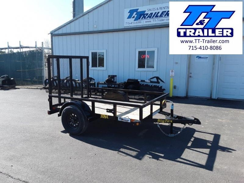 "2021 Big Tex 30SA 60"" x 8' Single Axle Utility Trailer"