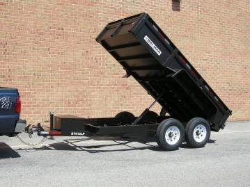 2021 Bri-Mar DT612LP-12 Dump Trailer