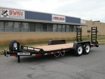 2021 Bri-Mar EH20-16HD Equipment Trailer