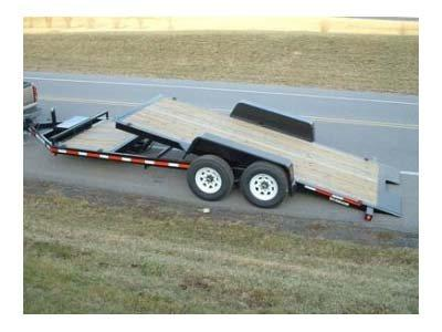2021 Bri-Mar HT20D-14HD Equipment Trailer