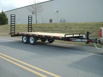 2021 Bri-Mar EH820-14 Equipment Trailer