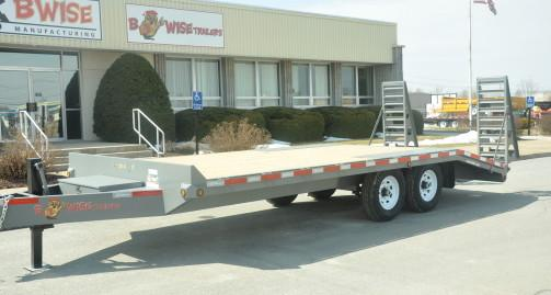 2021 BWISE EDB20-17K Equipment Trailer