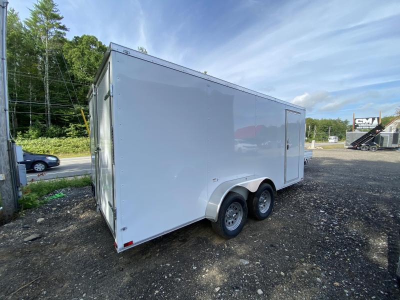 2021 Quality Cargo 7X16 DOUBLE DOORS Enclosed Cargo Trailer