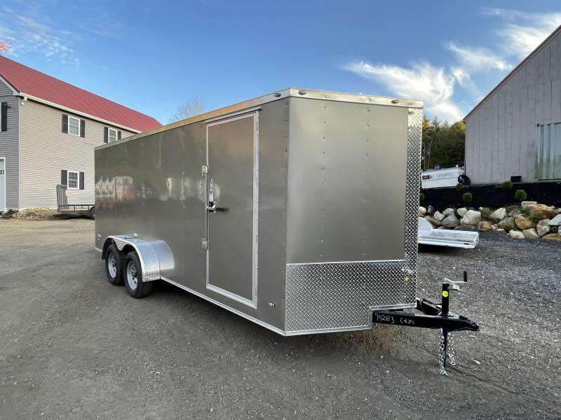 2022 Freedom Trailers 7X18 Enclosed Cargo Trailer