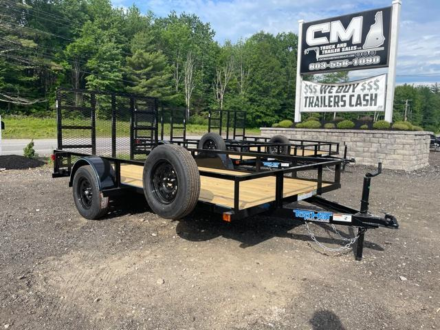 2021 Top Hat Trailers 12X77 Utility Trailer W/SPARE TIRE