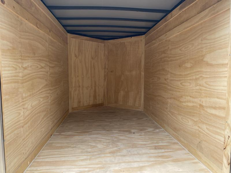2021 Freedom Trailers 5X8 RAMP Enclosed Cargo Trailer