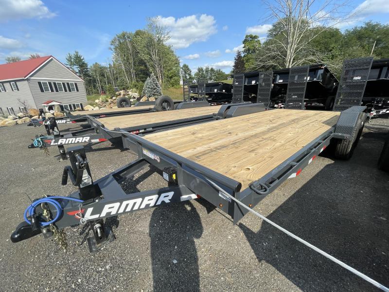 2021 Lamar Trailers 7x20 14K Heavy Duty Equipment Trailer