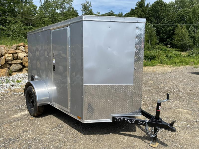 2020 Quality Cargo 5X8 REAR RAMP Enclosed Cargo Trailer