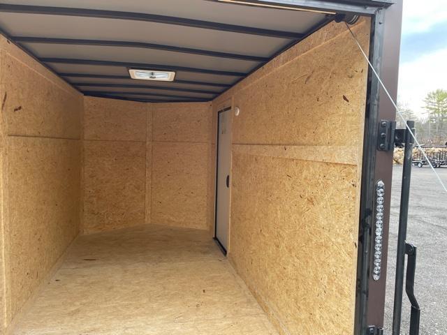 2021 Quality Cargo 6x12 BLACK OUT Enclosed Cargo Trailer