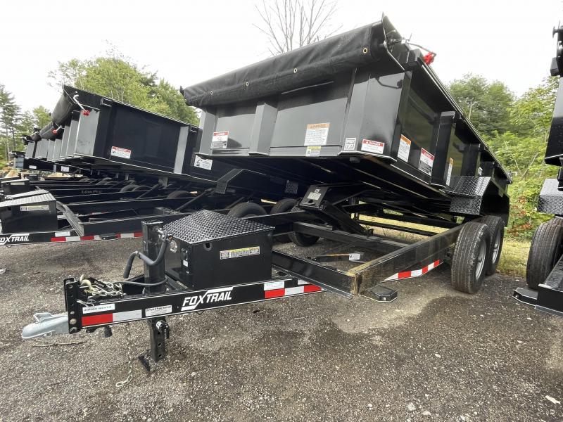 2021 Fox Trail 7x14 Tarp Kit Ramps Dump Trailer