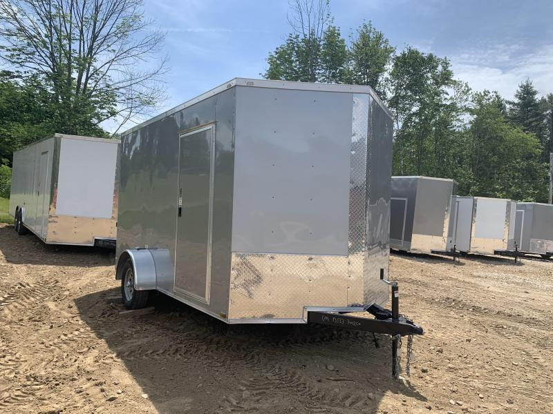 2019 Quality Cargo 7X12 EXTRA HEIGHT AND BRAKES Enclosed Cargo Trailer