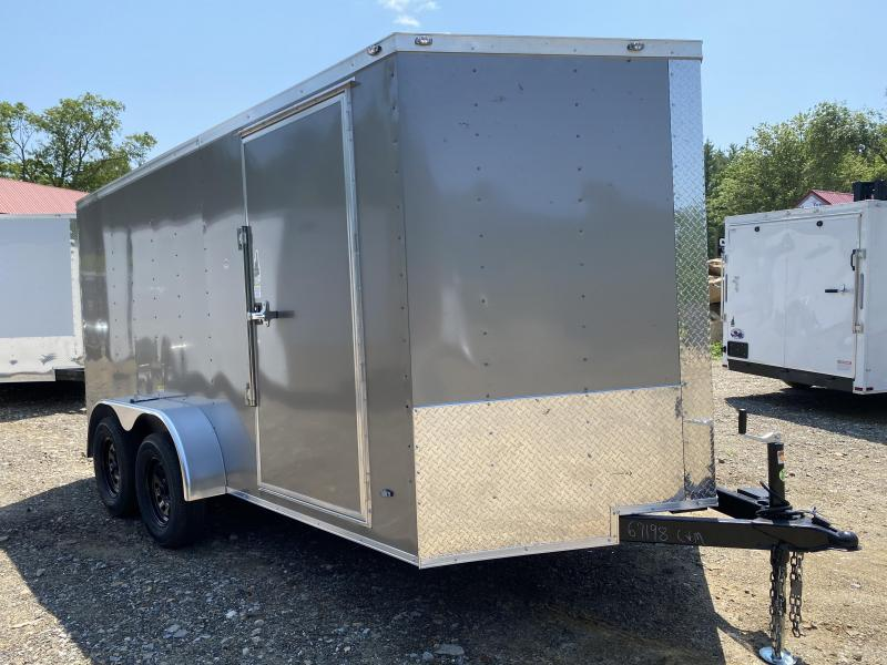 2020 Freedom Trailers 7X14 REAR RAMP Enclosed Cargo Trailer