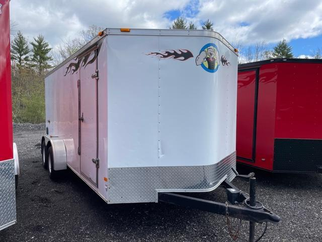 2014 Haulmark 7X16 Enclosed Cargo Trailer