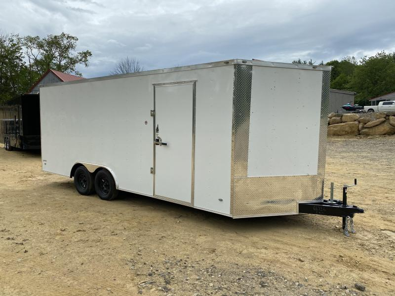 2020 Freedom Trailers 8.5X20 REAR RAMP Enclosed Cargo Trailer