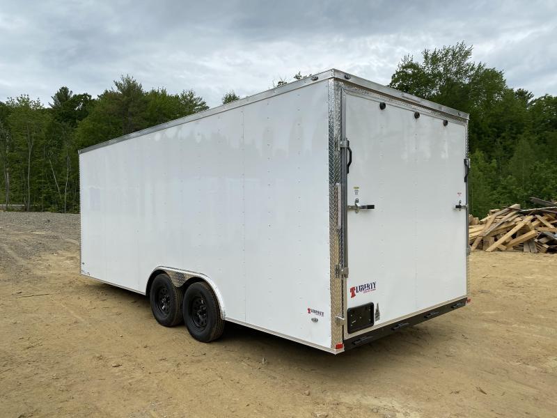 2020 Freedom Trailers 8.5X20 REAR RAMP Enclosed Cargo Trailer