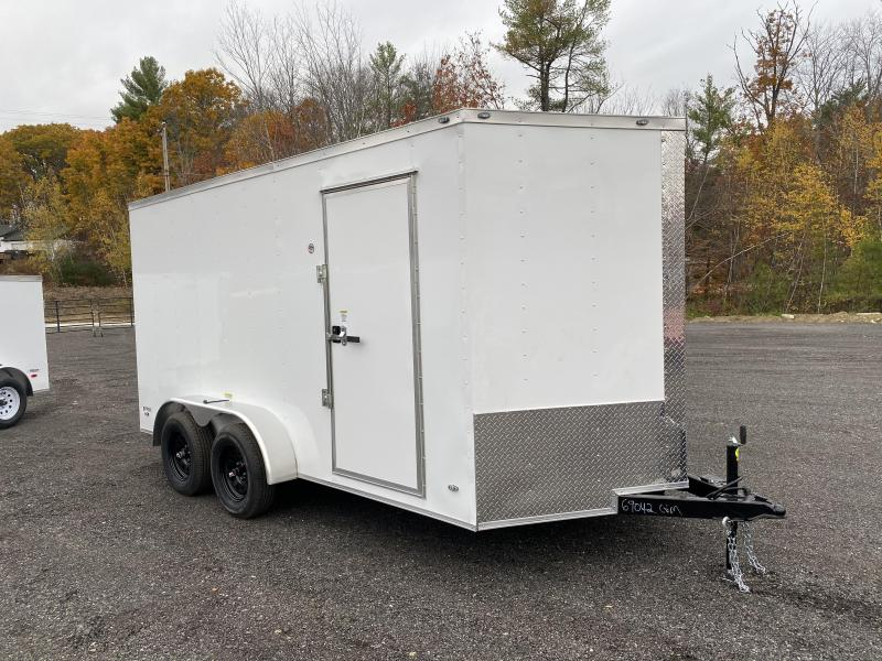 2021 Quality Cargo 7x14 extra height ramp Enclosed Cargo Trailer