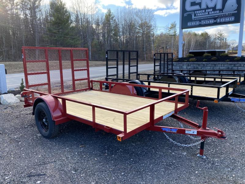 2021 Top Hat Trailers 6.5X10 RED RAMP Utility Trailer