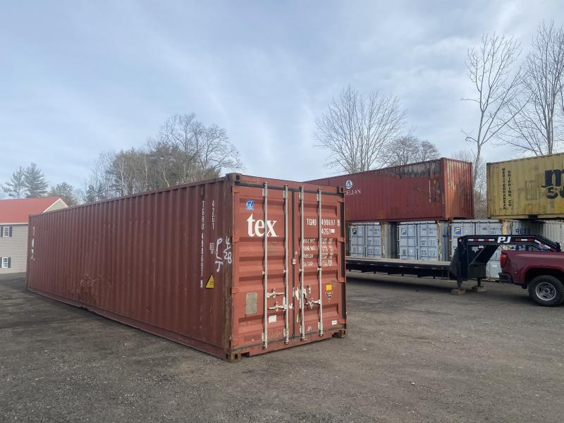 8x40 shipping containers