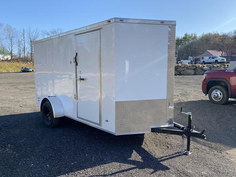 2021 Freedom Trailers 6x12 RAMP 16OC ROOF Enclosed Cargo Trailer