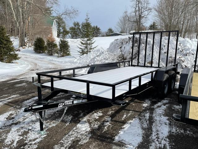 2021 Fox Trail 6.5x16 Utility Trailer