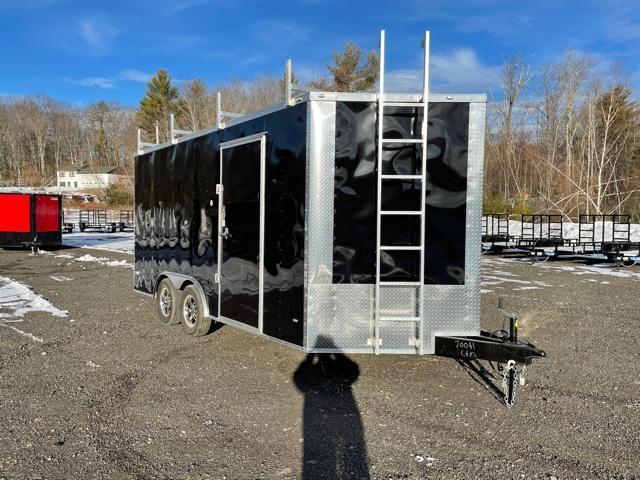 2021 Freedom Trailers 8.5 X16 Enclosed Cargo Trailer