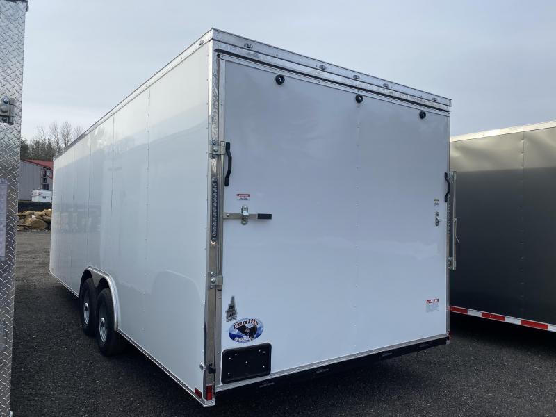 2021 Quality Cargo 8.5X24 EXTRA HEIGHT 9900GVW Enclosed Cargo Trailer