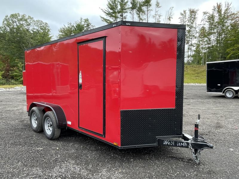 2022 Quality Cargo 6X14 Black Out Package Enclosed Cargo Trailer
