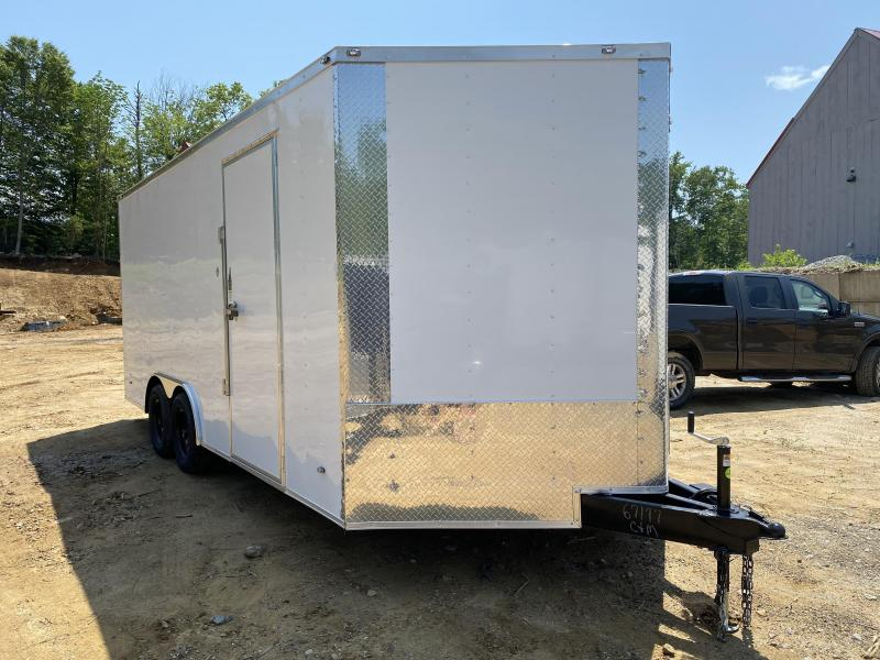 2020 Freedom Trailers 8.5X18 EXTRA HEIGHT REAR RAMP Enclosed Cargo Trailer