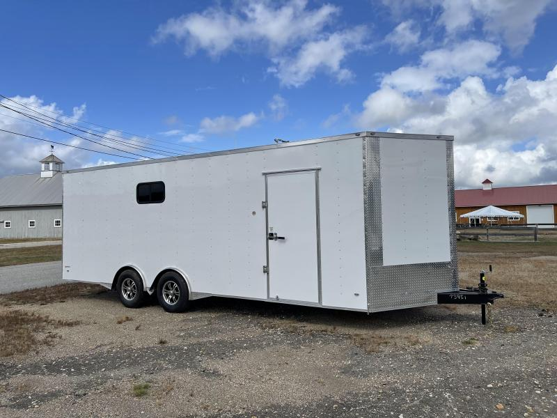 """2022 Freedom Trailers 8.5X24 6"""" Additional Height Spread Axle Enclosed Cargo Trailer"""