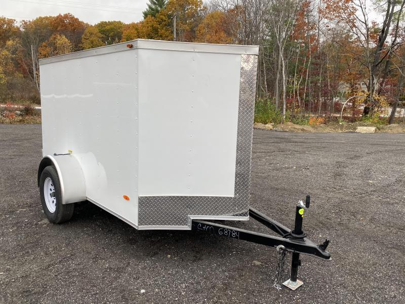 2021 Freedom Trailers 5x8 enclosed double doors Enclosed Cargo Trailer