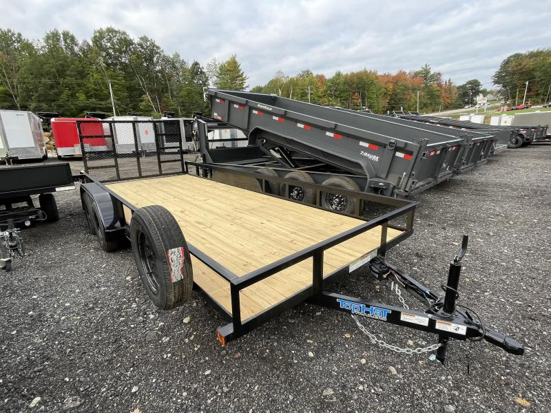2022 Top Hat Trailers 7x18 Utility Trailer