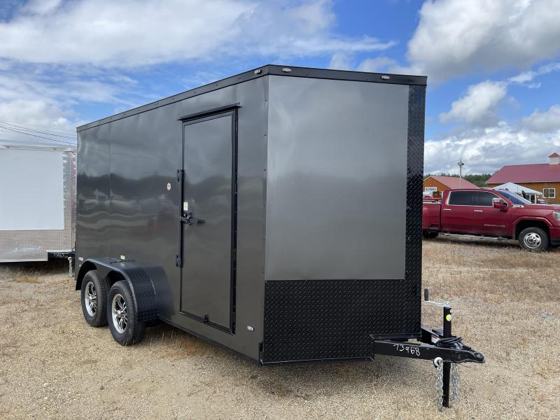 """2022 Freedom Trailers 7x14 6"""" Extra Height DRINGS Enclosed Cargo Trailer"""