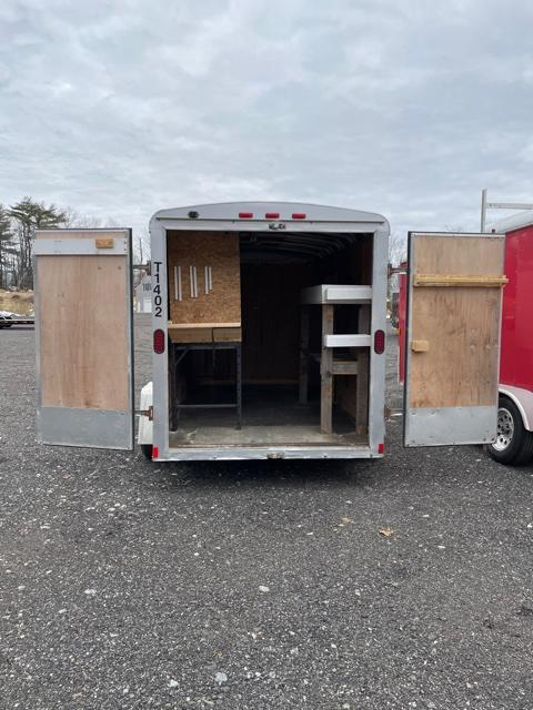 2015 Wells Cargo 6X10 Enclosed Cargo Trailer