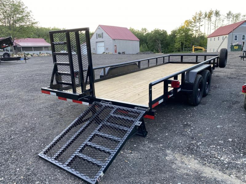 2020 Top Hat Trailers 7X20 10K Equipment Trailer