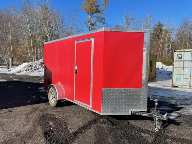 2021 Quality Cargo 6X12 Enclosed Cargo Trailer