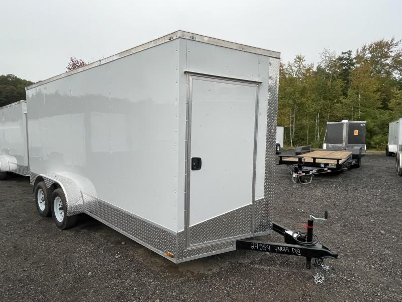 """2022 Quality Cargo 7x16 9"""" Extra Height Appearance Package Enclosed Cargo Trailer"""