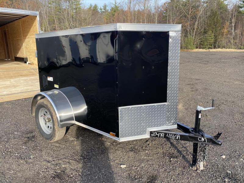 2021 Quality Cargo 4x6 swing door Enclosed Cargo Trailer