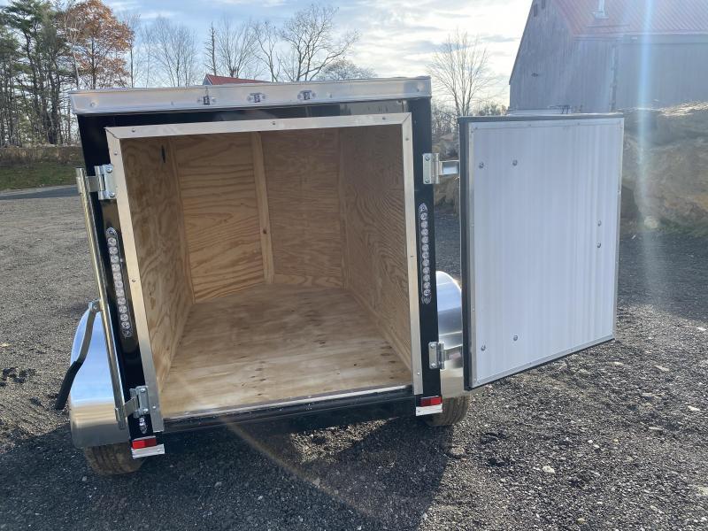 2021 Quality Cargo 4x6 swing door Enclosed Cargo Trailer