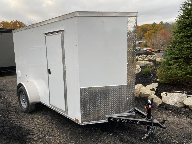 2021 Quality Cargo 5X10 EXTRA HEIGHT RAMP Enclosed Cargo Trailer