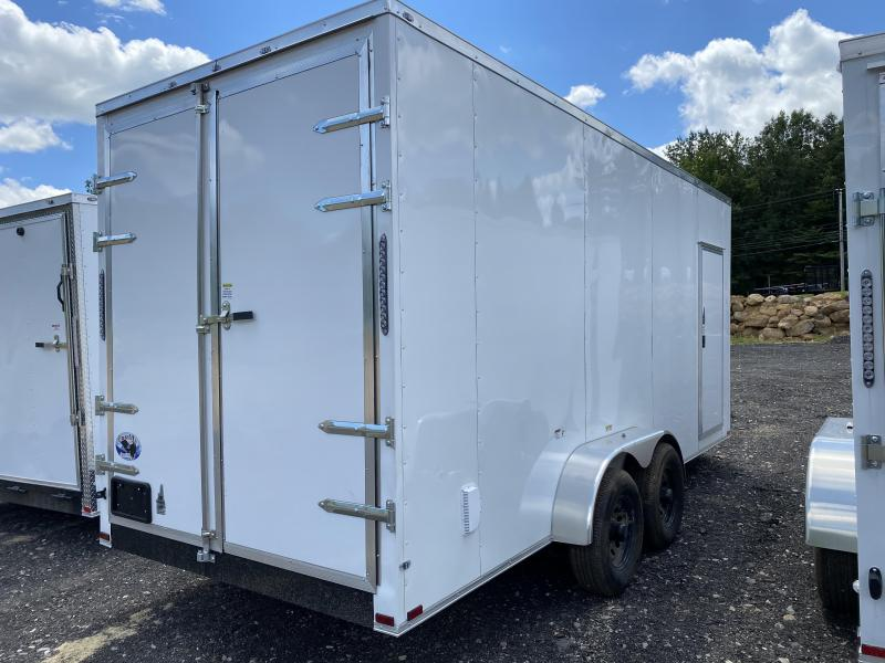 2020 Quality Cargo 7x18 EXTRA HEIGHT BARN DOORS Enclosed Cargo Trailer