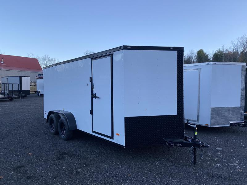 2021 Quality Cargo 7X16 BLACKOUT TRIM Enclosed Cargo Trailer