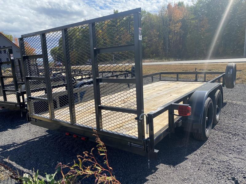 2021 Top Hat Trailers 7X18 SPARE TIRE Equipment Trailer