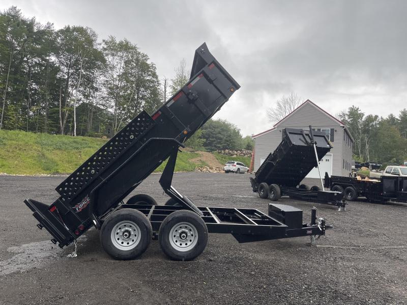 2022 Force 6.5X12 12K SCISSOR HOIST Dump Trailer