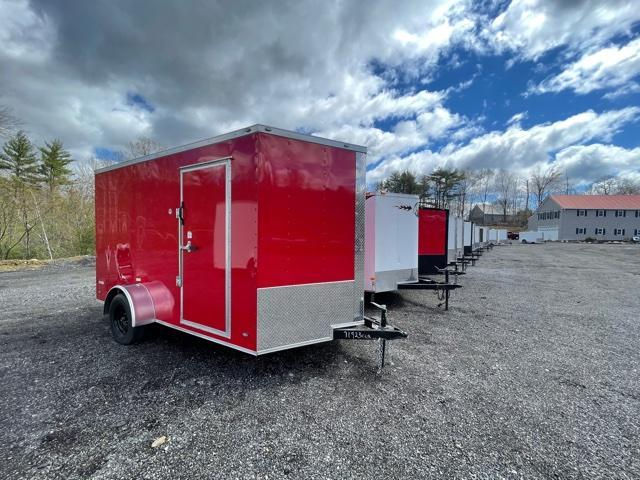 "2021 Freedom Trailers 7X12 Enclosed Cargo Trailer 6"" EXTRA HEIGHT"